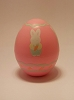 1990 Egg - Pink Bunny With Carrot