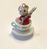 1991 Tiny Tea Party Porcelain  *Miniature  (NB..Mouse in Teacup Red Shirt)