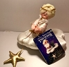 1986 Starry Angel Tree Topper with Tag