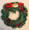 1990 Little Frosty Friends Wreath Only *Miniature