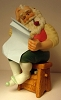 1987 The Toymaker Figurine 2nd Blueprint for Christmas