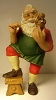1986 The Toymaker Figurine 1st Painting Santa