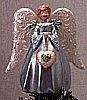 1998 Victorian Angel Tree Topper *Miniature