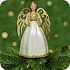 2001 Graceful Angel Tree Topper *Miniature