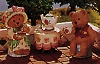 1997 Mary's Bears Tea Time Set/3 *MM * Mary Hamilton