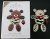2010 Berry Sweet Bear Chocolate *Colorway-White *RARE