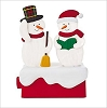 2018 Snow Many Memories Caroling Snowmen Tabletop *Magic
