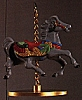 1989 Christmas Carousel Horse - Holly