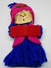 1973 Yarn Blue Girl  Caroler
