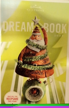 2008 A Dreambook      Hallmark Keepsake Ornament 08Dreambook