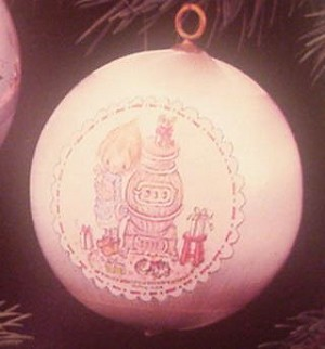 1976 Betsey Clark At Stove Ball (NB)  Hallmark Keepsake Ornament 250QX210-1