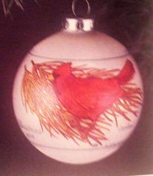 1976 Cardinals Ball Hallmark Keepsake Ornament 225QX205-1