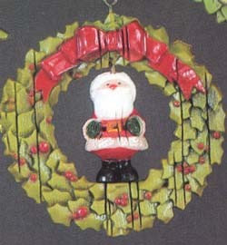 1976 Twirl About Santa (DB) Hallmark Keepsake Ornament 450QX172-1-2