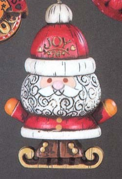 1976 Yesteryears Santa  Hallmark Keepsake Ornament 500QX182-1-2