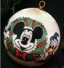 1977 Disney- Mickey's Face Ball  Hallmark Keepsake Ornament 350QX133-5-2-2