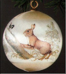 1977 Rabbit Ball  (NB) Hallmark Keepsake Ornament 250QX139-5