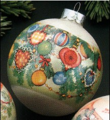 1977 Christmas Expressions Ornaments Ball (NB) Hallmark Keepsake Ornament 350QX155-5