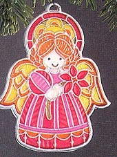 1978 Colors Of Christmas Angel  Hallmark Keepsake Ornament 350QX354-3-2-2