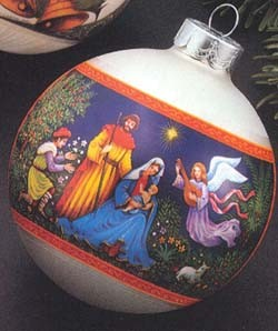 1978 Nativity-Ball (NB) Hallmark Keepsake Ornament 350QX253-6