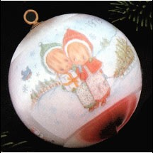 1979 Betsey Clark Ball 7th (NB) Hallmark Keepsake Ornament 350QX201-9-2