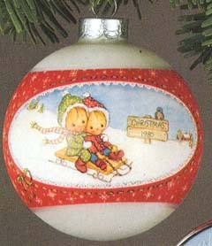 1980 Betsey Clark Ball 8th (SDB) Hallmark Keepsake Ornament 400QX215-4