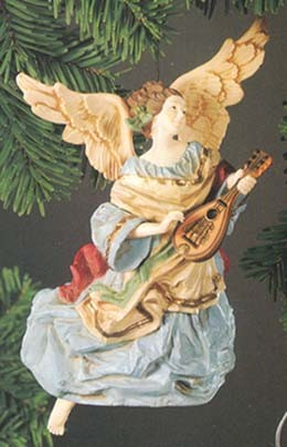1980 Heavenly Minstrel Angel (NB) Hallmark Keepsake Ornament 1500QX156-7