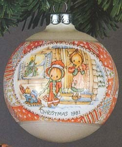 1981 Betsey Clark-Ball 9th (SDB) Hallmark Keepsake Ornament 450QX802-2