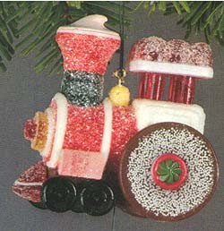 1981 Candyville Express Train  Hallmark Keepsake Ornament 750QX418-2-2-2