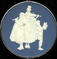 1981 Norman Rockwell-Cameo-2nd  Hallmark Keepsake Ornament 850QX511-5-2