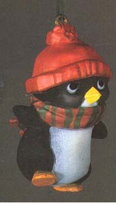 1981 Little Trimmers: Perky Penguin  (NB) Hallmark Keepsake Ornament 350QX409-5