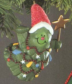 1982 Jolly Christmas Tree (MIB)  Hallmark Keepsake Ornament 650QX465-3