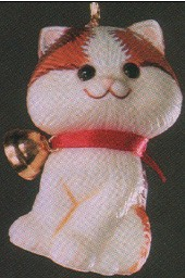 1982 Little Trimmer Christmas Kitten  (NB) Hallmark Keepsake Ornament 400QX454-3