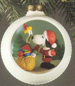1983 Snoopy and Friends Panorama 5th Hallmark Keepsake Ornament QX4169