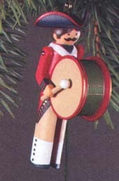1983 Clothespin Soldier-Early American 2nd   Hallmark Keepsake Ornament 500QX402-9