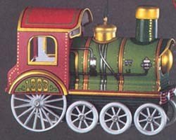 1983 Tin Locomotive 2nd Hallmark Keepsake Ornament 1300QX404-9