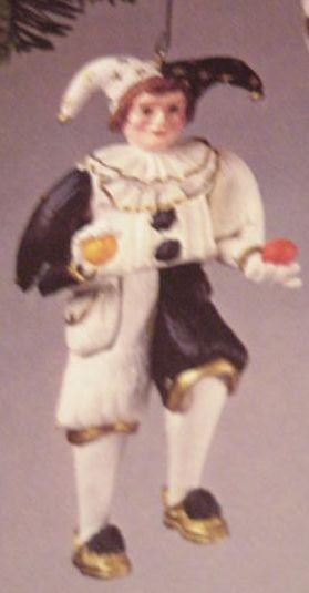 1984 Holiday Jester  Hallmark Keepsake Ornament 1100QX437-4
