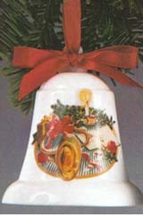 1984 Mother And Dad-Bell  Hallmark Keepsake Ornament 650QX258-1