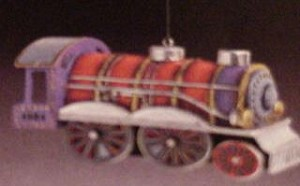 1984 Tin Locomotive-3rd Hallmark Keepsake Ornament 1400QX440-4