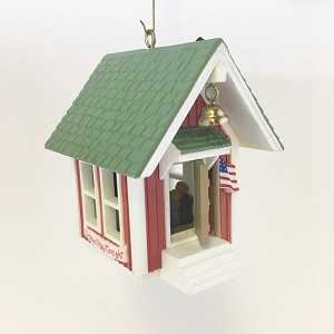 1985 Little Red Schoolhouse *Magic (NB) Hallmark Keepsake Ornament QLX7112-2