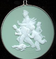 1985 Norman Rockwell-Cameo 6th Hallmark Keepsake Ornament 750QX374-5
