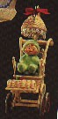 1985 Baby's First Christmas Child In Stoller Hallmark Keepsake Ornament 1500QX499-2