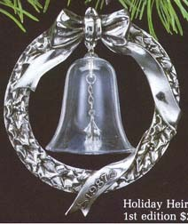 1987 Holiday Heirloom Bell-Ltd. Ed. 1st   Hallmark Keepsake Ornament 2500QX485-7