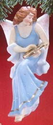1988 Angelic Minstrel *Club Hallmark Keepsake Ornament 2950QXC408-4