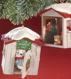 1988 Our Clubhouse *Club Hallmark Keepsake Ornament QXC580-4