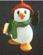 1988 Penguin Pal 1st *Miniature Hallmark Keepsake Ornament 375QXM563-1