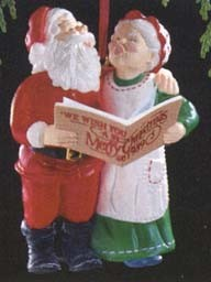 1989 Mr. & Mrs. Claus-Duet 4th Hallmark Keepsake Ornament 1325QX457-5