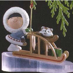 1989 Frosty Friends 10th (SDB) Hallmark Keepsake Ornament 925QX457-2