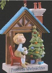 1989 Windows Of The World-Germany 5th  Hallmark Keepsake Ornament 1075QX462-4