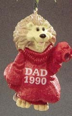 1990 Dad  (NB) Hallmark Keepsake Ornament 675QX453-3-2