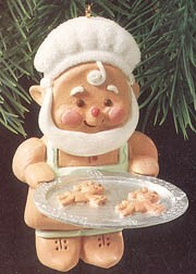 1990 Gingerbread Elf  Hallmark Keepsake Ornament 575QX503-3